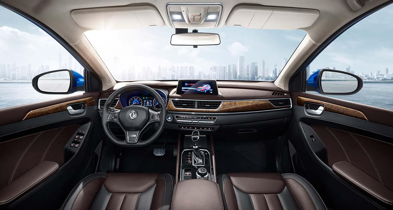 interior SUV 580 de dongfengmotor
