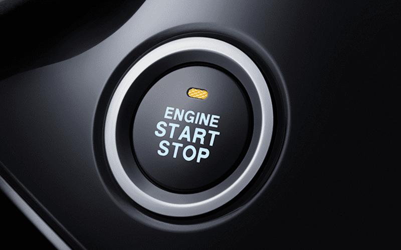 arranque sin llave start/stop del SUV ix5 de dongfeng