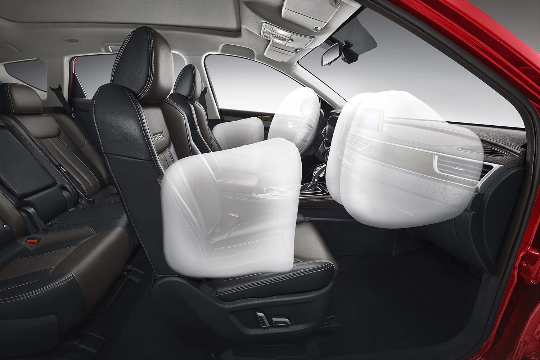 DFSK 580 Rojo Airbags